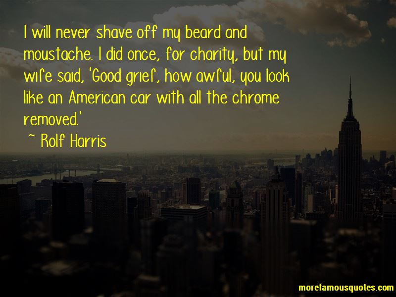 Beard And Moustache Quotes