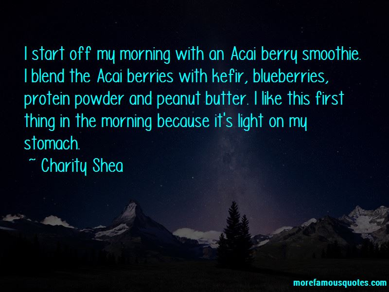 Berry Smoothie Quotes