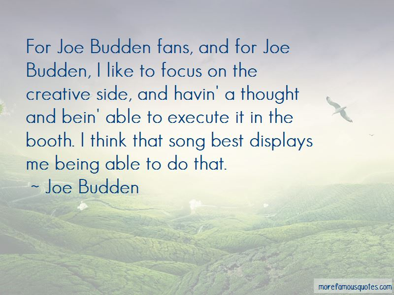 Best Budden Quotes