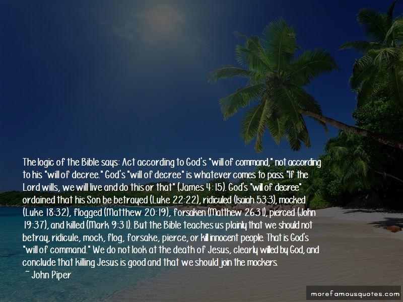 Bible Forsaken Quotes