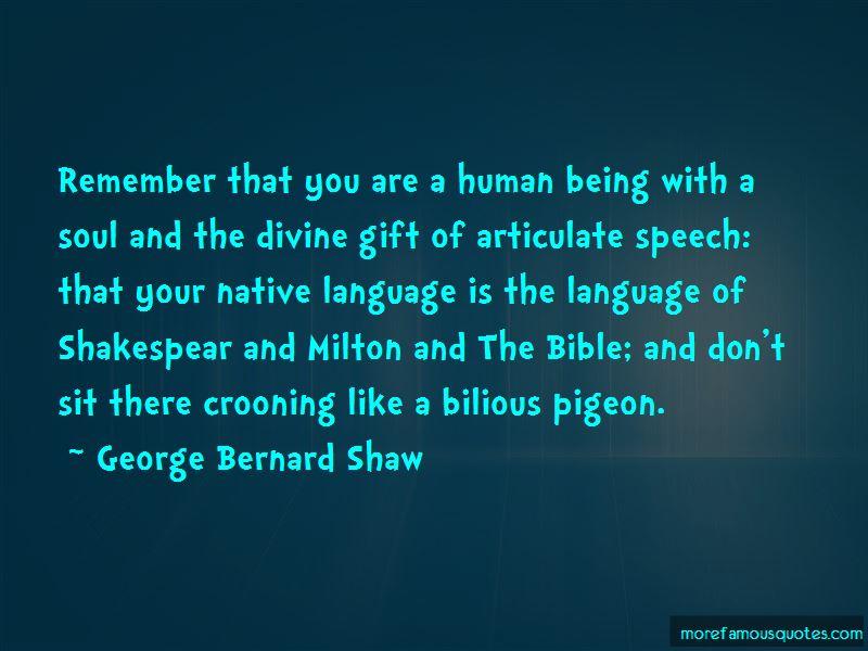 Bilious Quotes