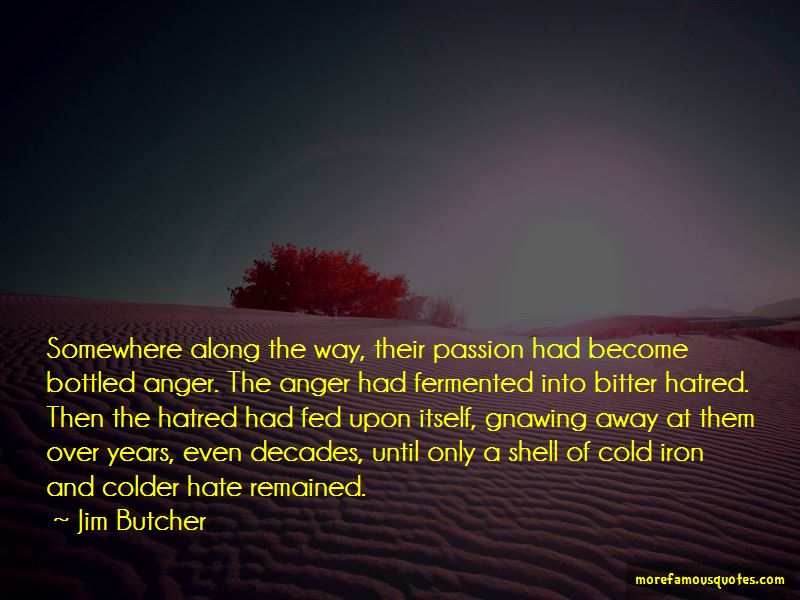 Bottled Anger Quotes
