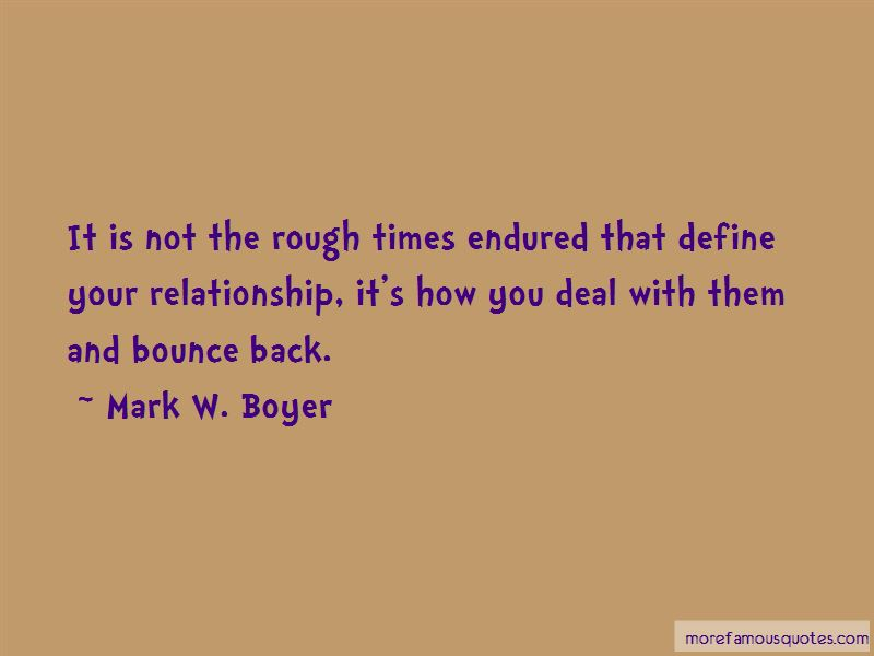 Bounce Back Relationship Quotes