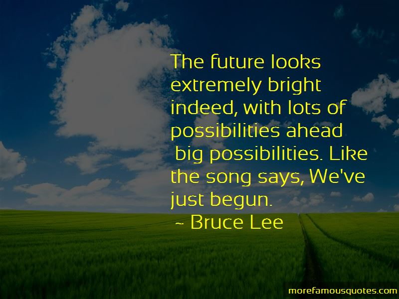 Bright Future Ahead Of Me Quotes Pictures 4