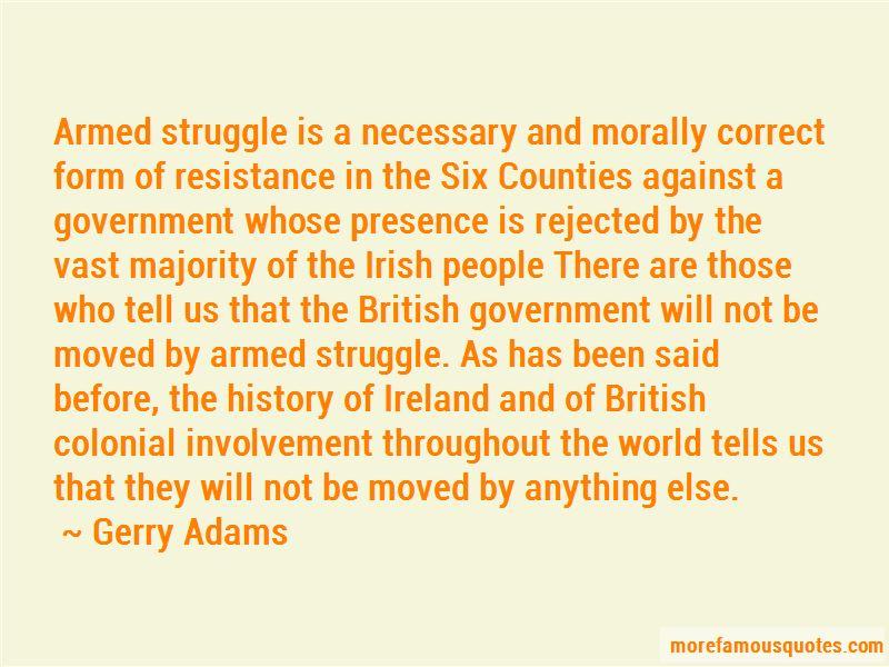 British Colonial Quotes
