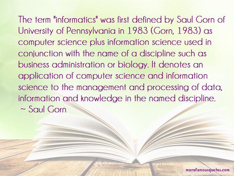 Business Informatics Quotes