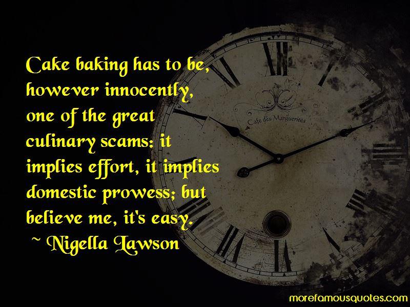 Cake Baking Quotes