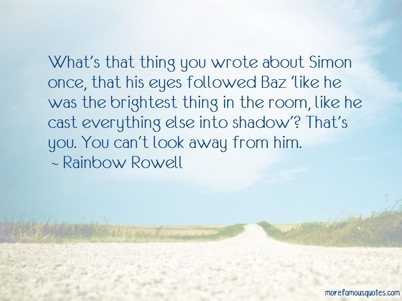 Can't Look Away Quotes
