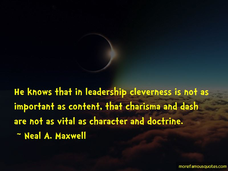 Charisma Character Quotes Pictures 2