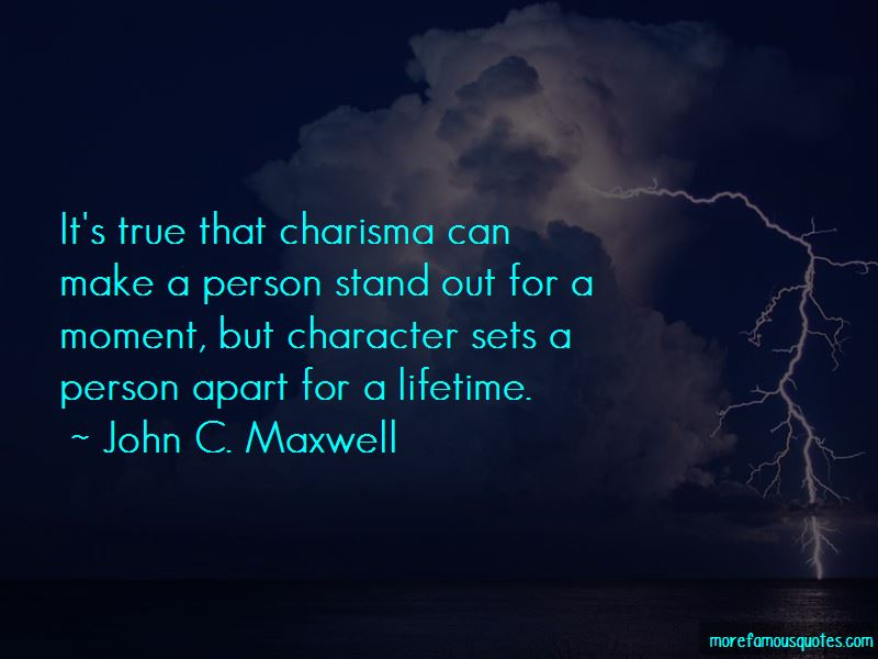 Charisma Character Quotes Pictures 3