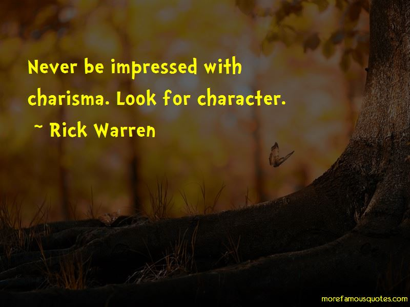 Charisma Character Quotes Pictures 4