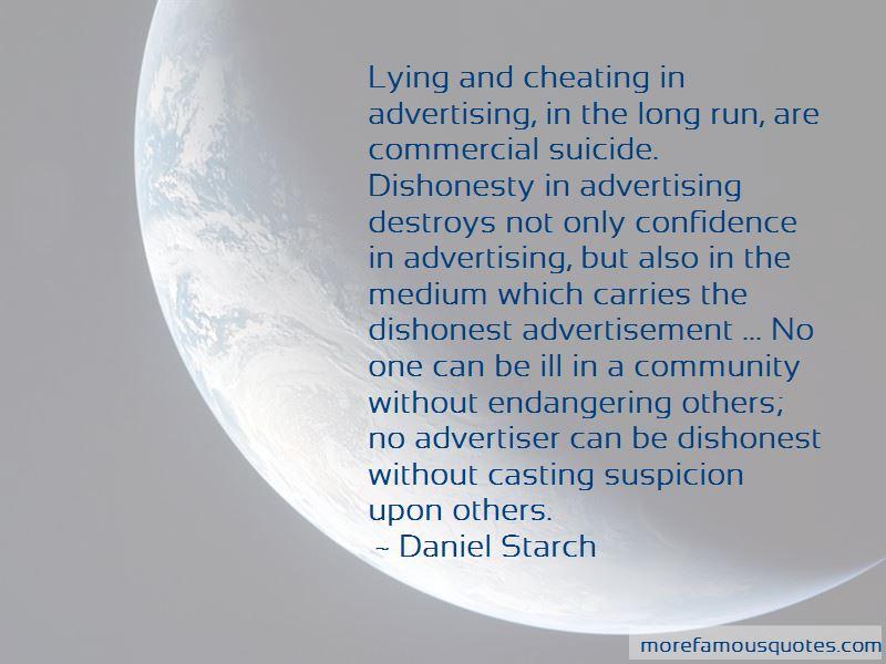 Cheating Suspicion Quotes