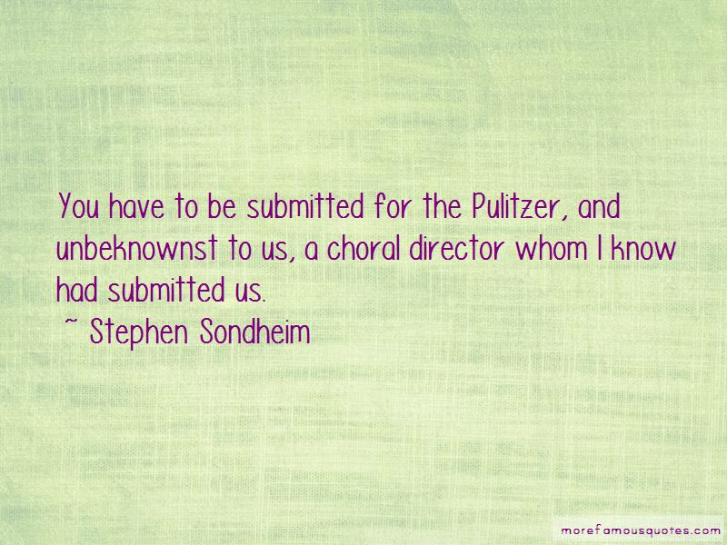 Choral Director Quotes