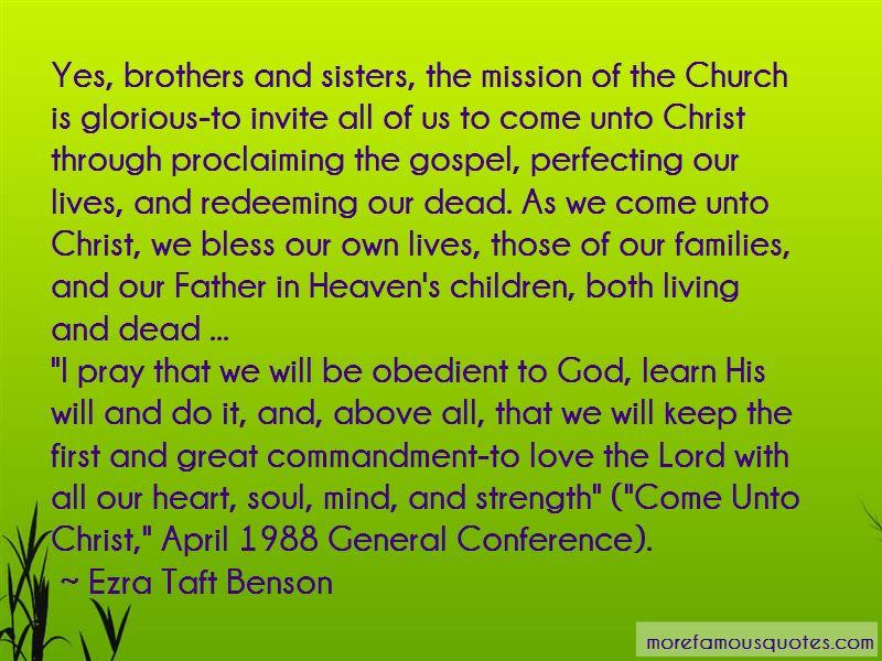 Church Invite Quotes
