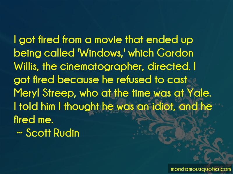 Cinematographer Quotes