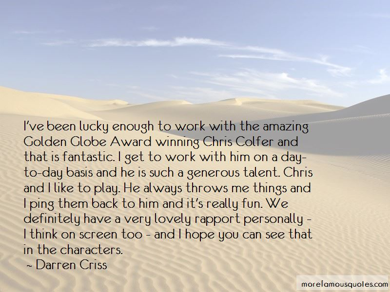 Colfer Quotes Pictures 3