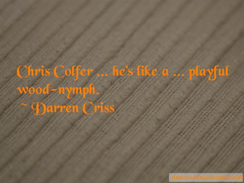 Colfer Quotes
