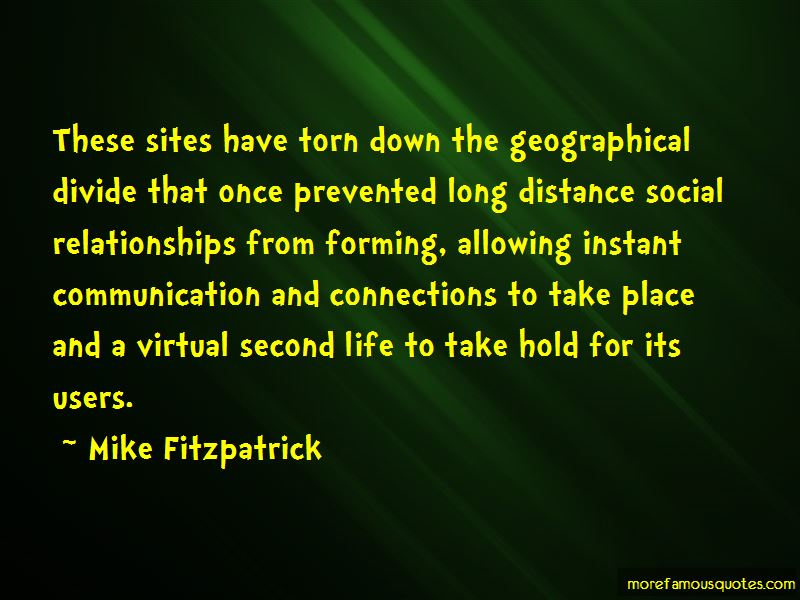 Communication And Long Distance Relationships Quotes
