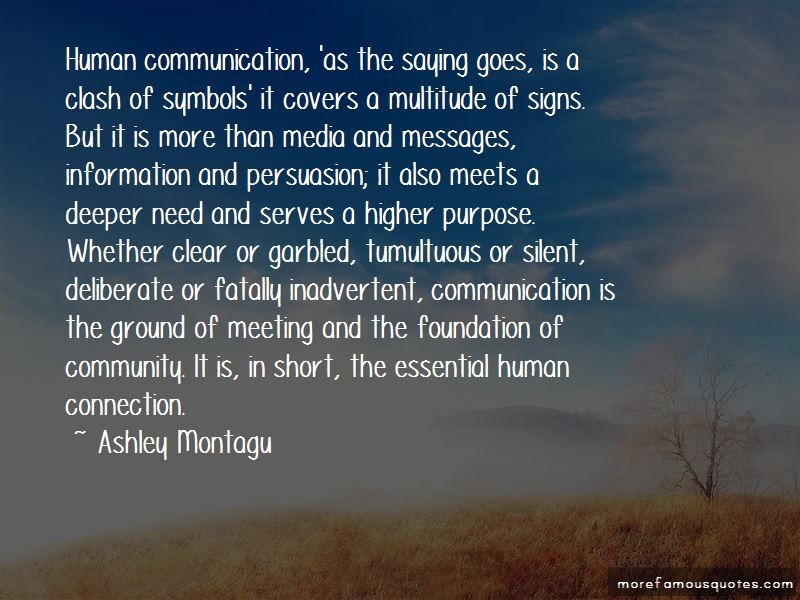 Communication The Human Connection Quotes Pictures 4