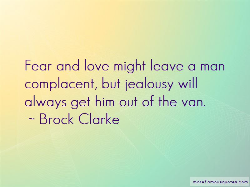 Complacent Love Quotes
