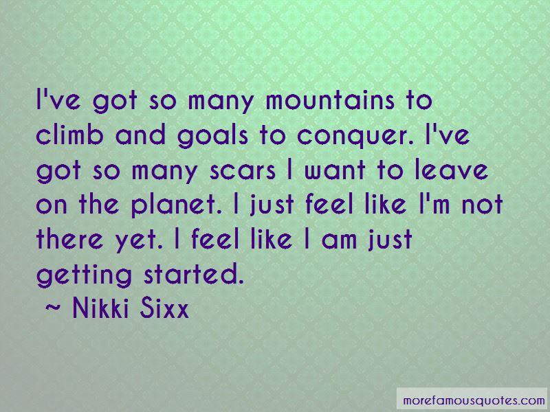 Conquer Goals Quotes