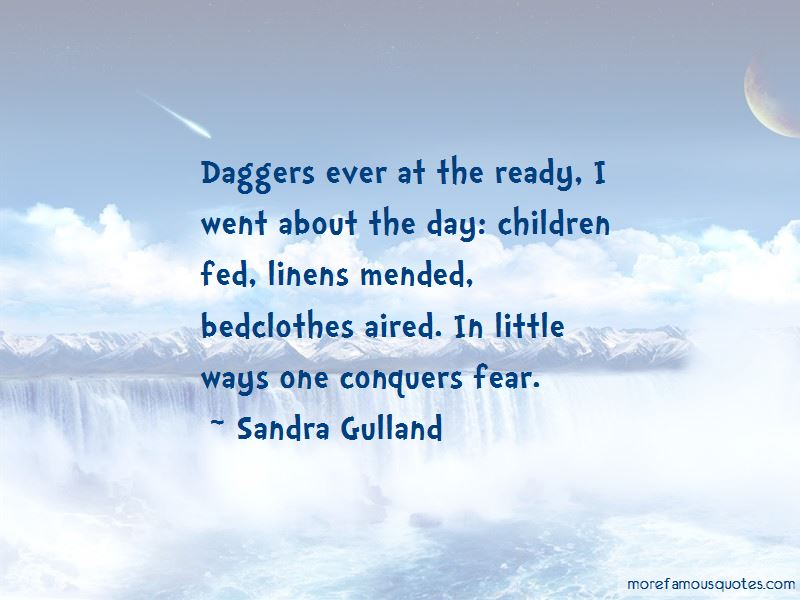 Conquers Fear Quotes