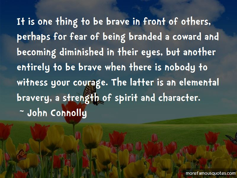 Courage Vs Bravery Quotes Pictures 2