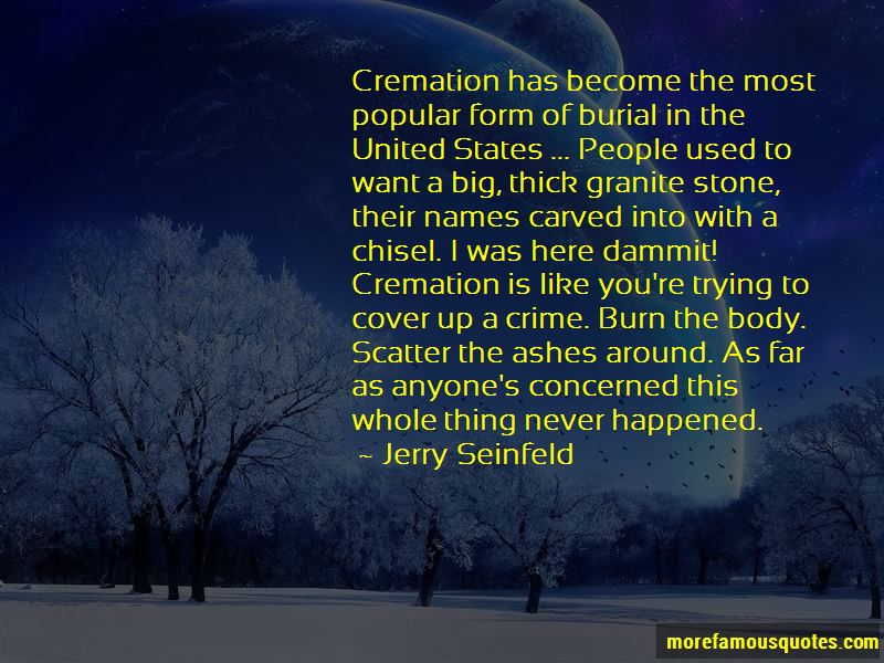 Cremation Ashes Quotes