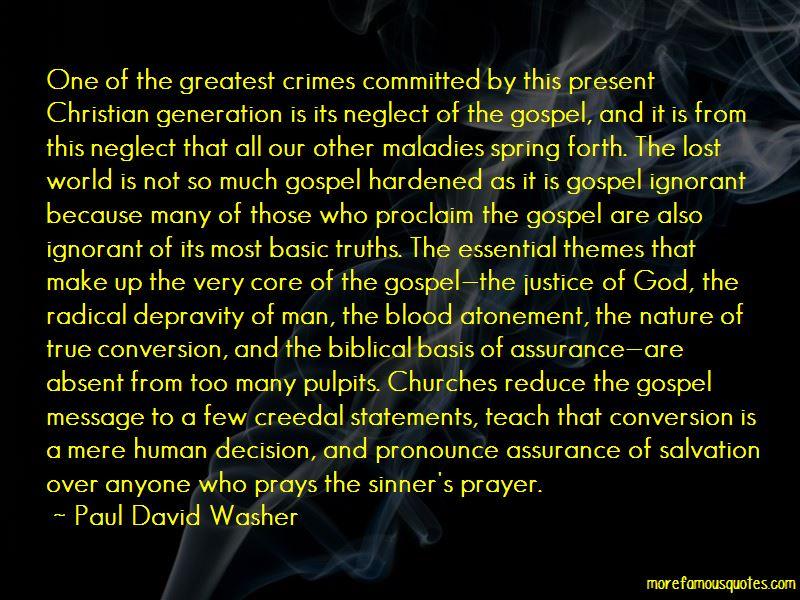 Depravity Of Man Quotes
