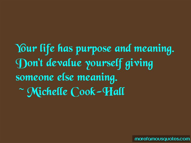 Devalue Yourself Quotes