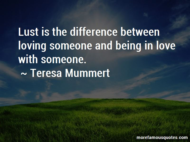 Difference In Love And Lust Quotes