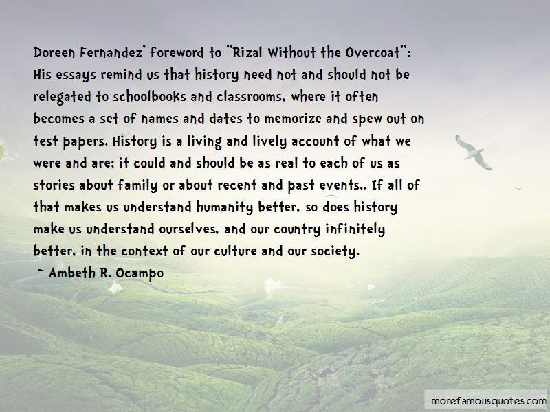 Doreen Fernandez Quotes