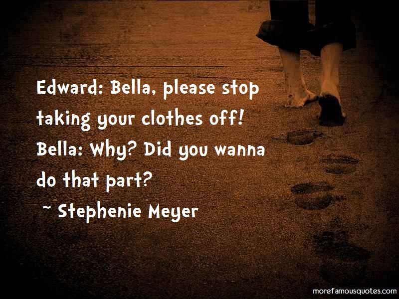 Edward To Bella Quotes