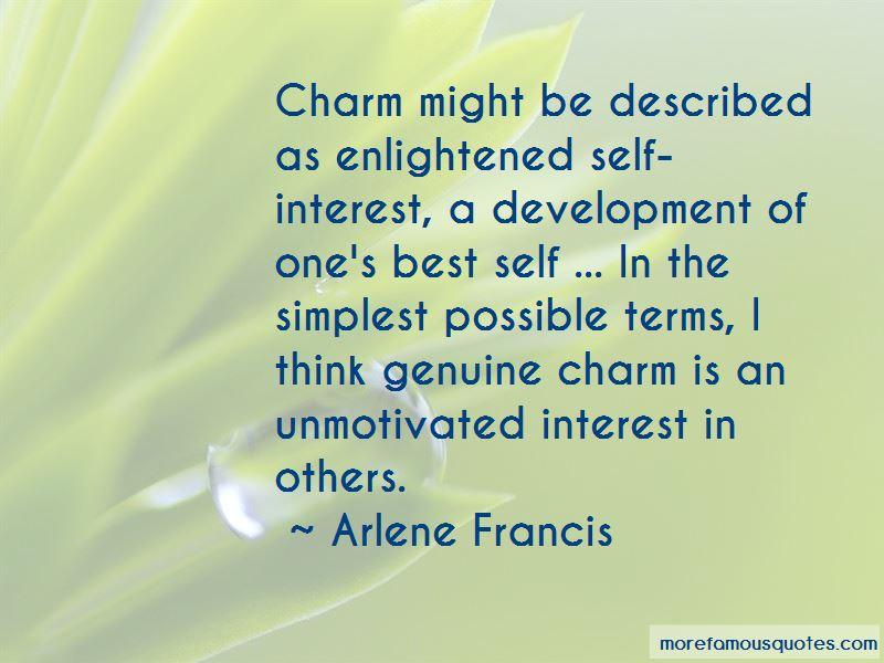 Enlightened Self Interest Quotes