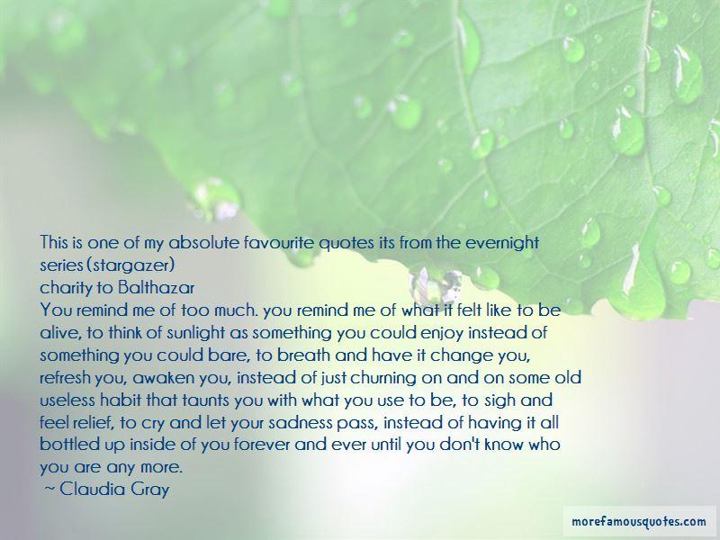 Evernight Series Quotes