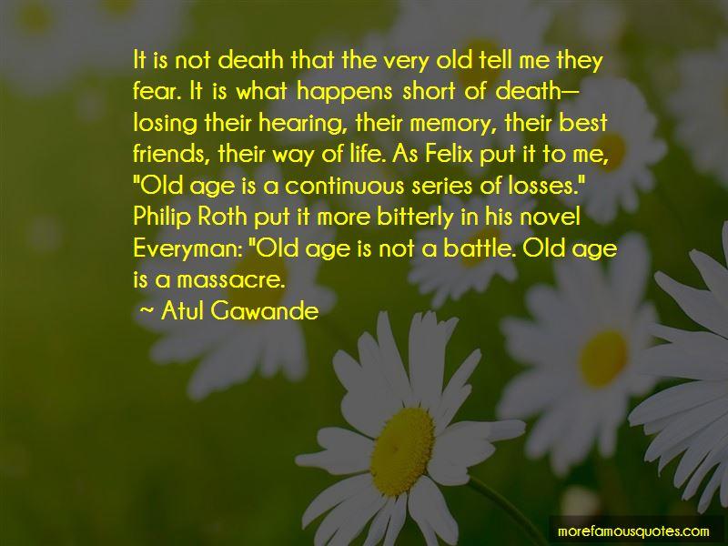 Everyman Roth Quotes