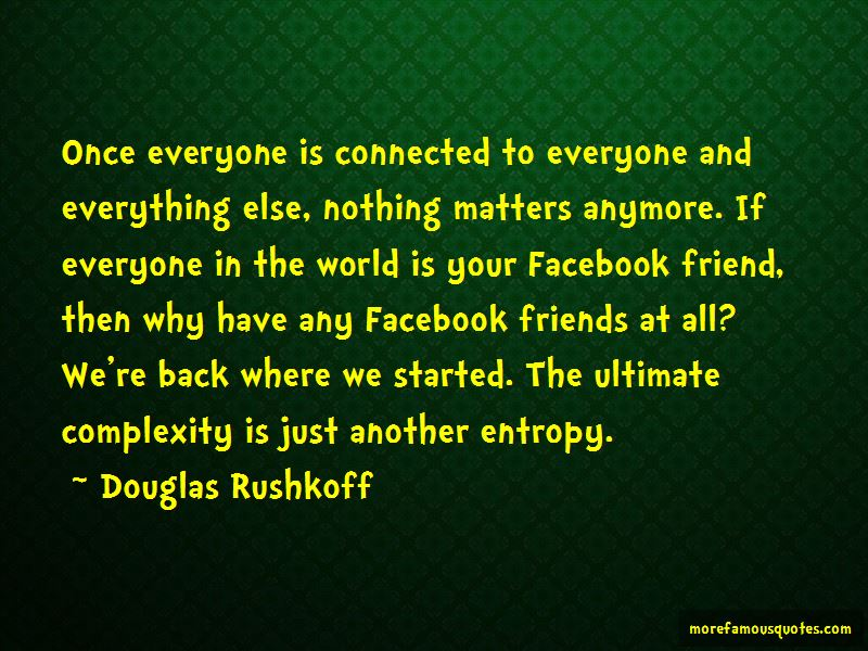 Everyone Is Connected Quotes