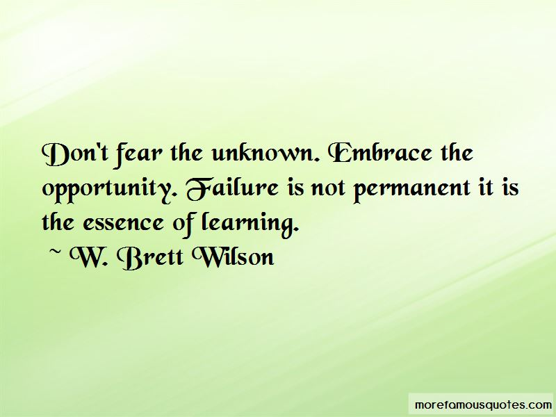 Failure Is Not Quotes