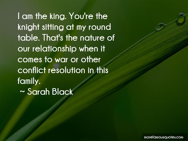 Family Conflict Resolution Quotes