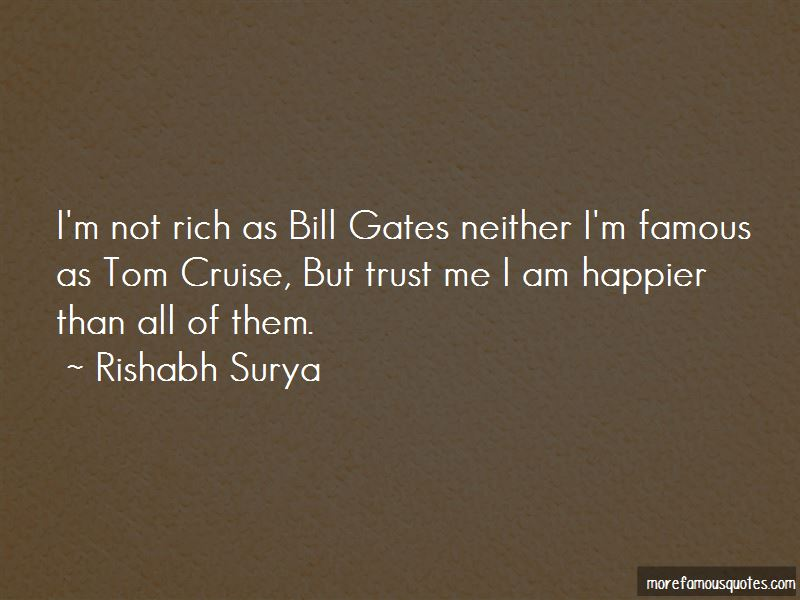 Famous Tom Cruise Quotes