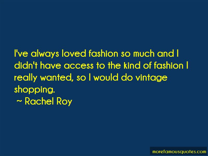 Fashion Shopping Quotes