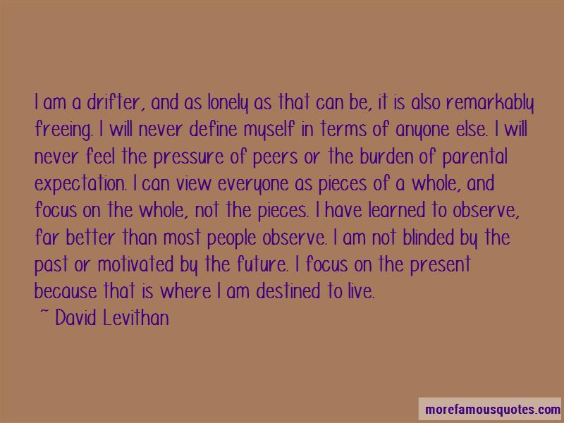 Focus On The Present And Future Quotes Pictures 4