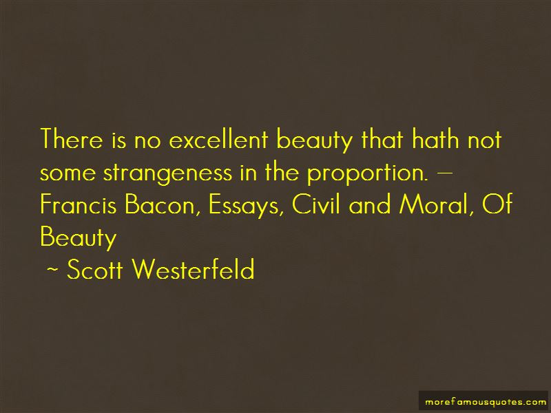 bacon essays famous quotes