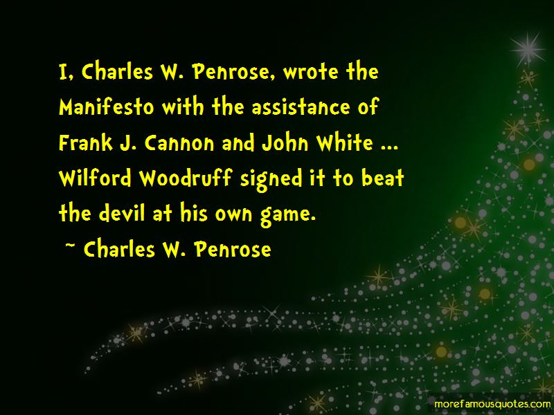 Frank Cannon Quotes