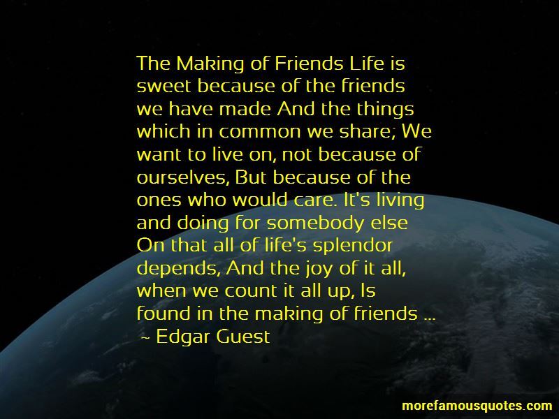 Friends Life Quotes