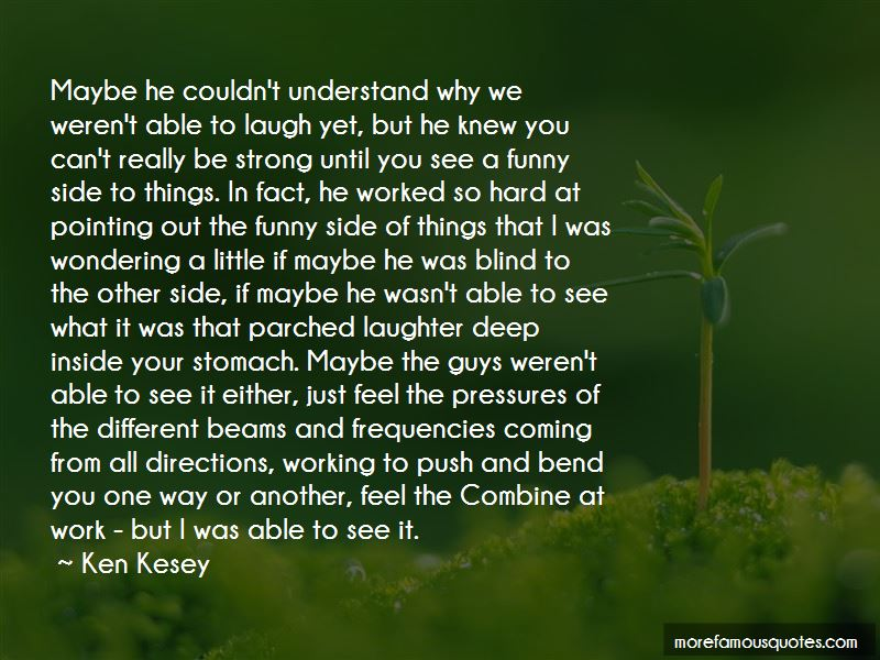 Funny Blind Side Quotes