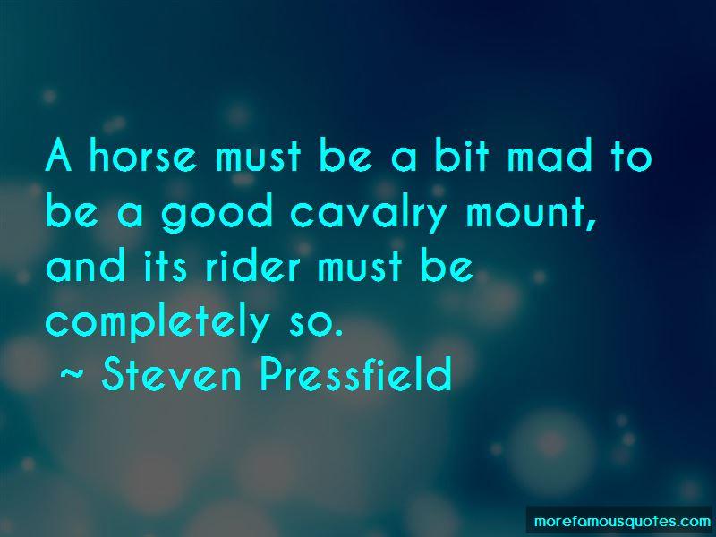 Good Cavalry Quotes