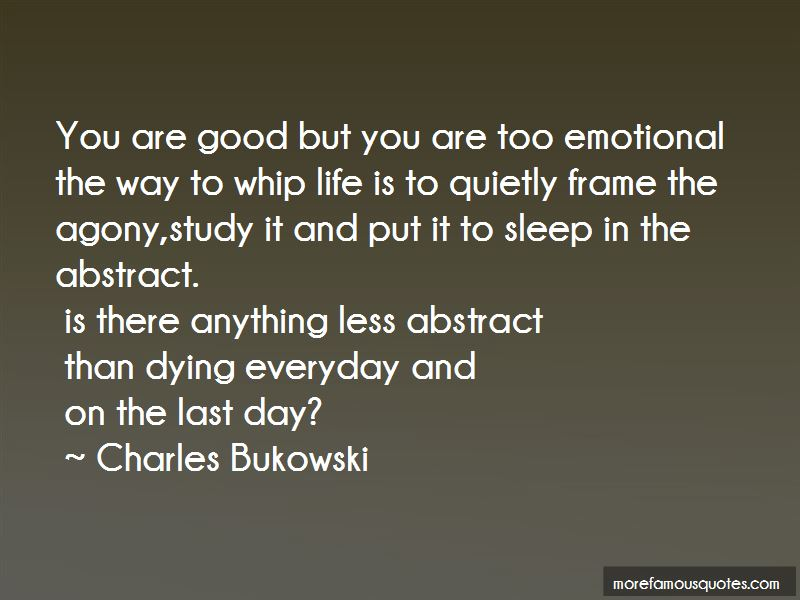Good Emotional Life Quotes