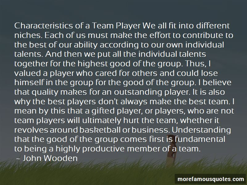 Good Team Basketball Quotes: top 13 quotes about Good Team ...