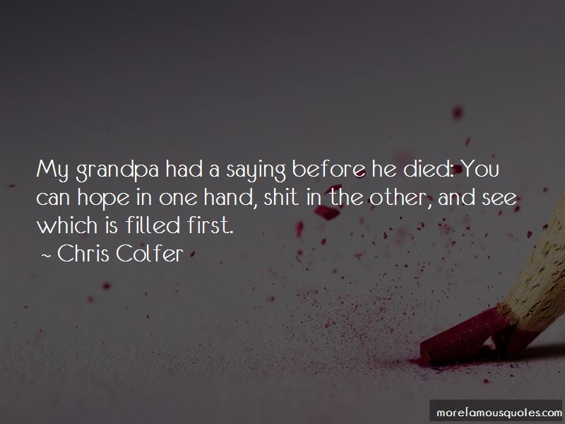 Grandpa Died Quotes: top 4 quotes about Grandpa Died from ...